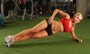 Womens Fitness How to Get Six Pack Abs: Work Out Daily and Resist Sweet Items